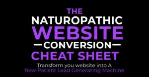 Naturopathic Website Cheat Sheet